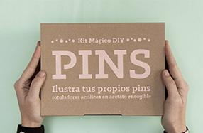 El kit mágico para crear tus propios pins