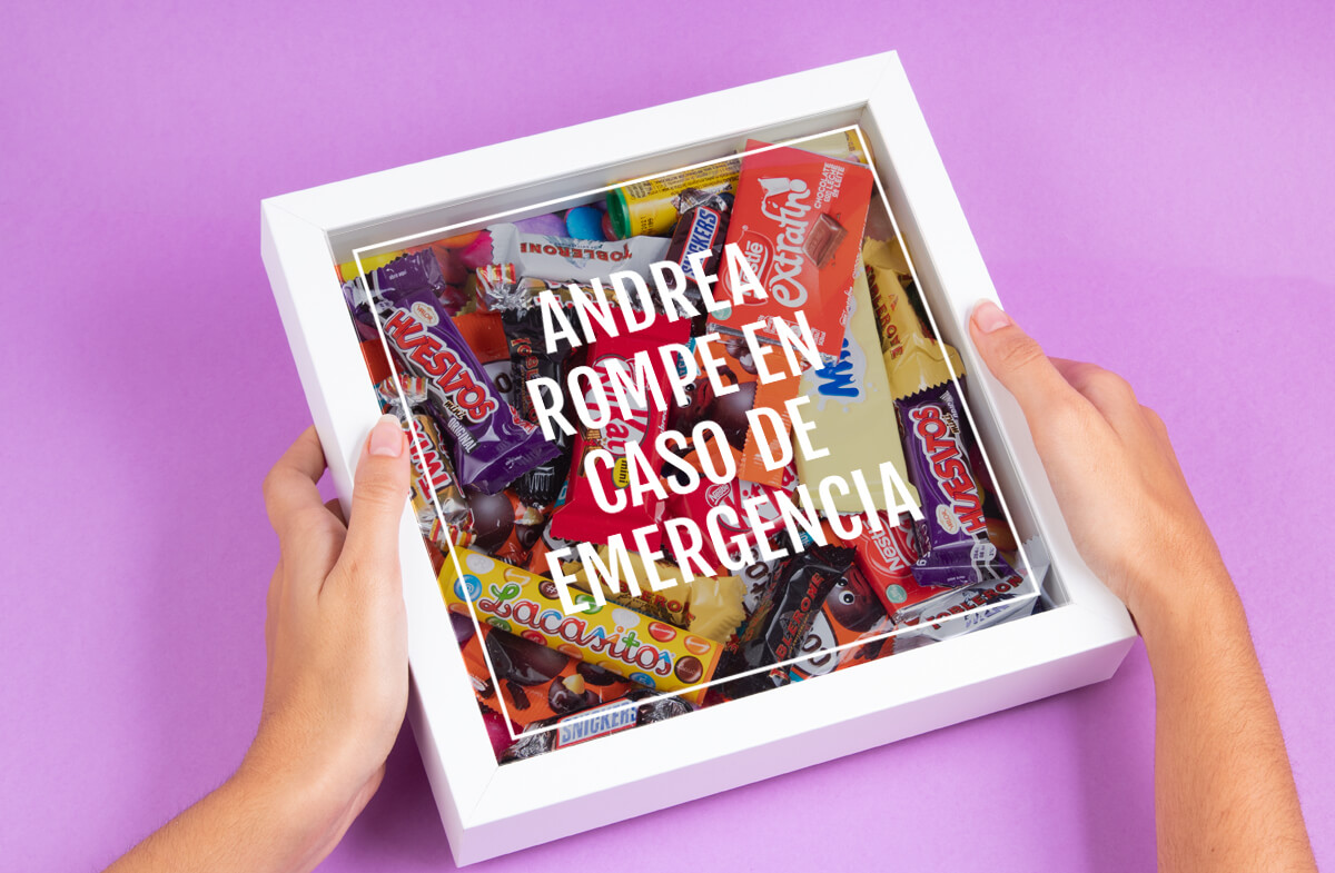 Kit personalizado Emergencia de Chocolate