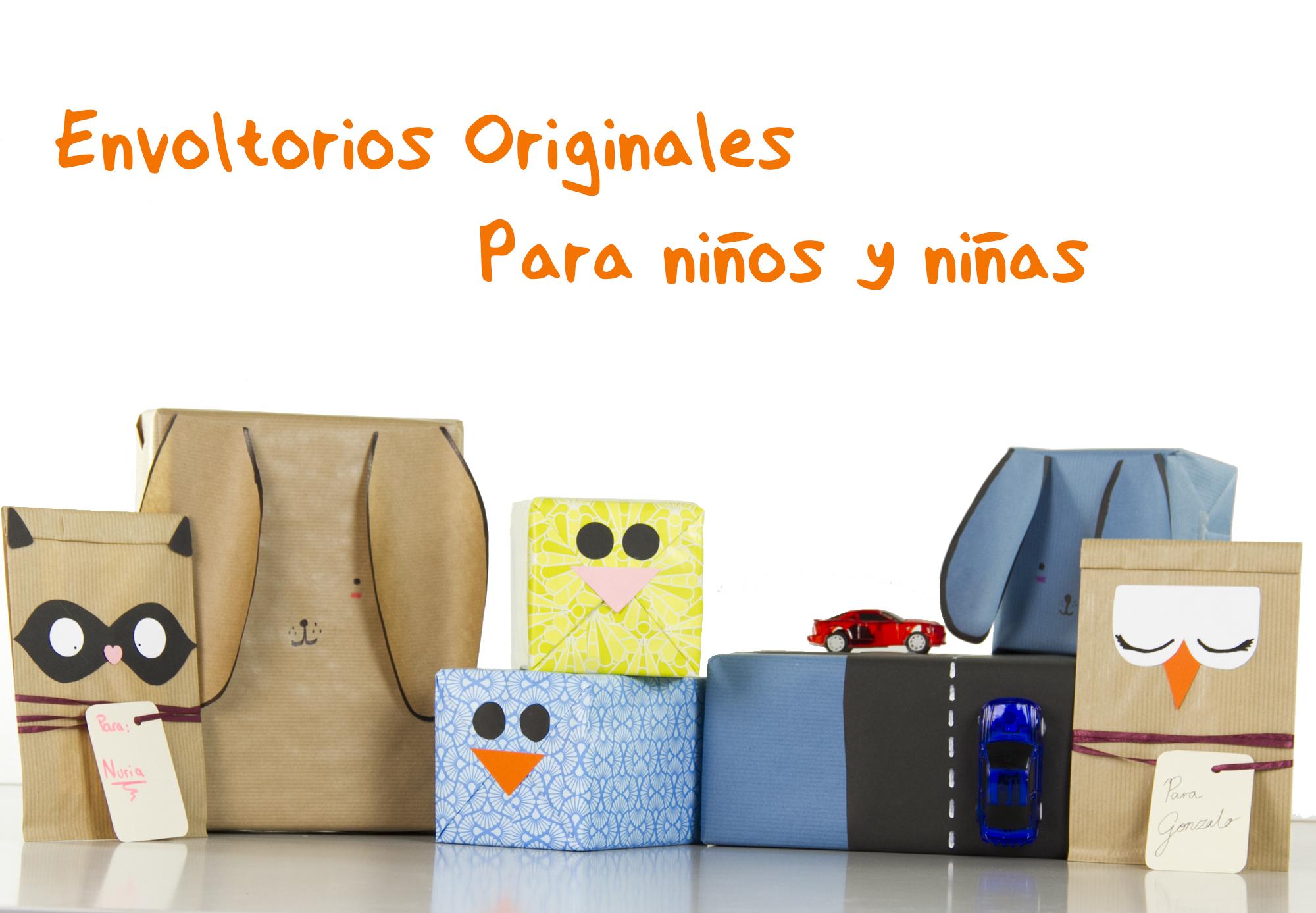 Envoltorios originales y fáciles para niños y niñas – El blog de ...