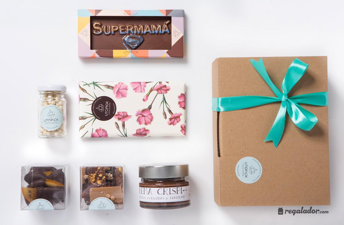 Packs de chocolate gourmet para mamás golosas en Regalador.com