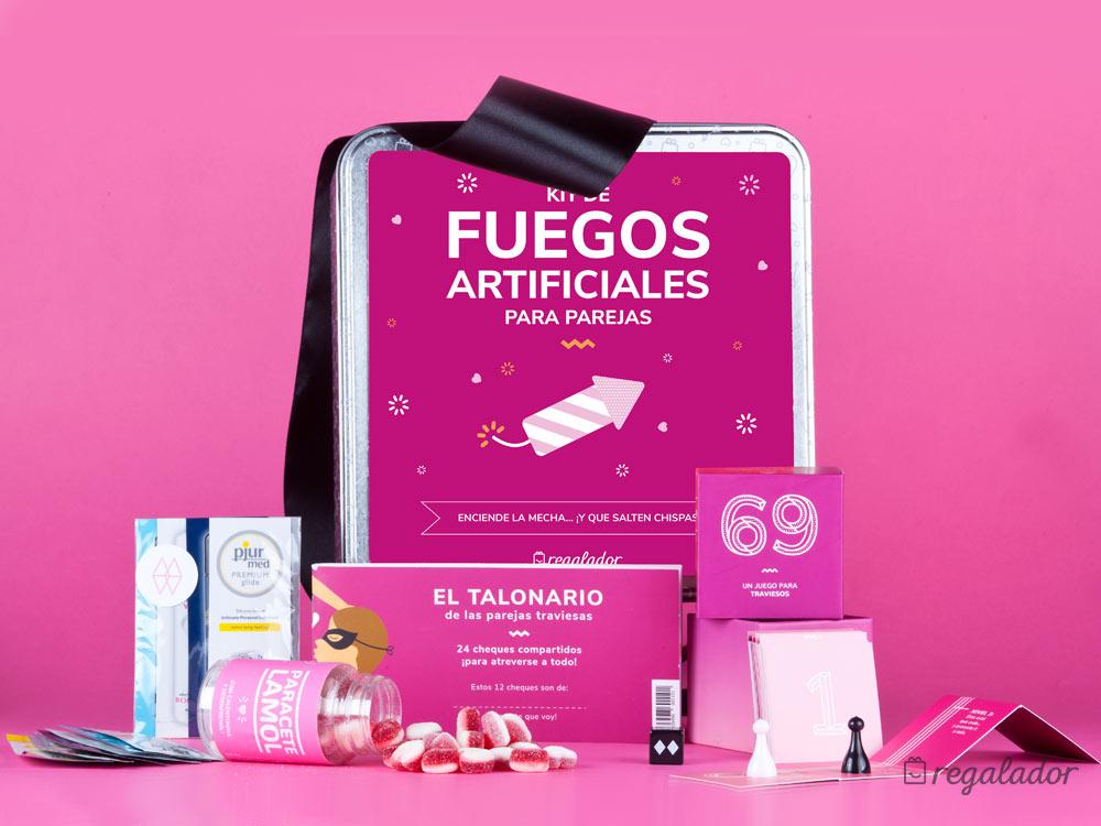 Kit De Fuegos Artificiales Para Parejas Regaladorcom