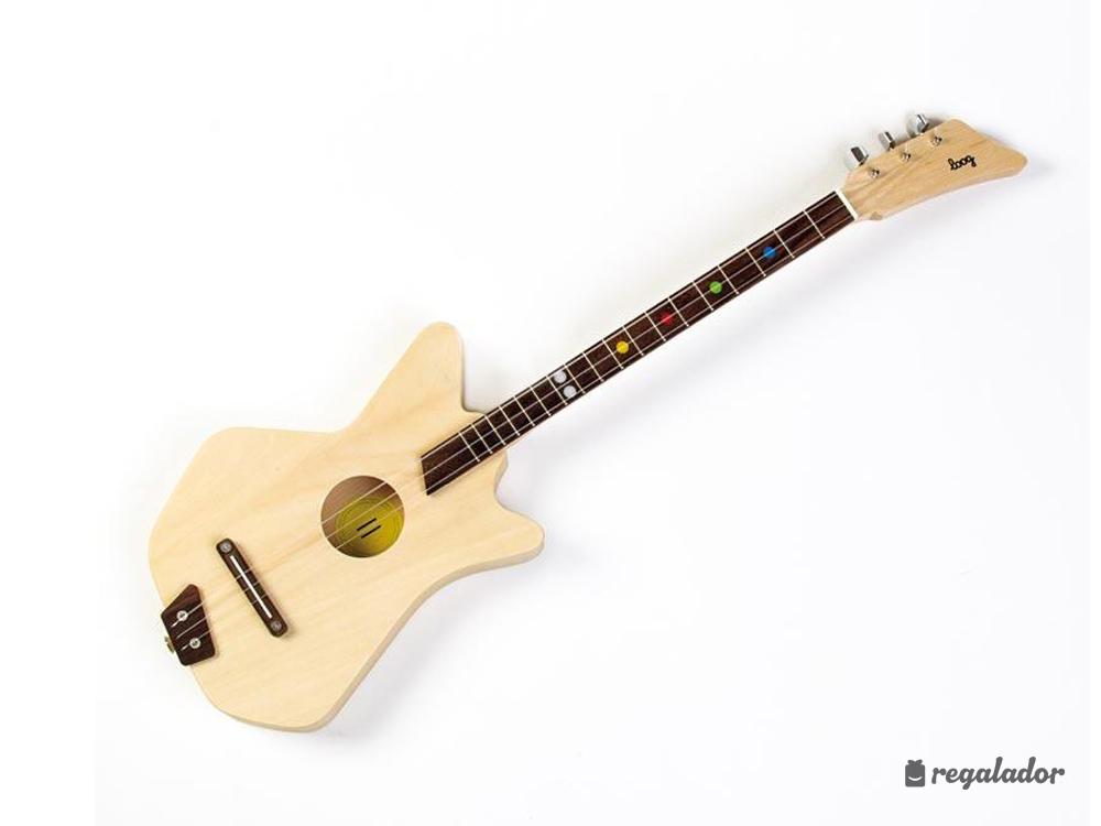 Guitarra acústica de tres cuerdas para niños en Regalador.com