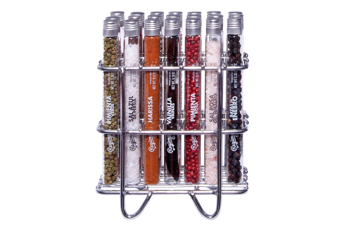 Pack Premium de 21 especias y sales del mundo en Regalador.com