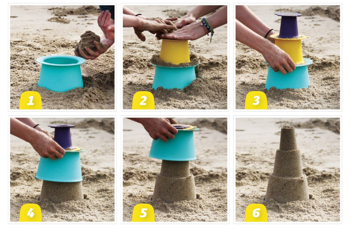 """El juguete más premiado para hacer castillos de arena: """"Alto"""" de Quut"""