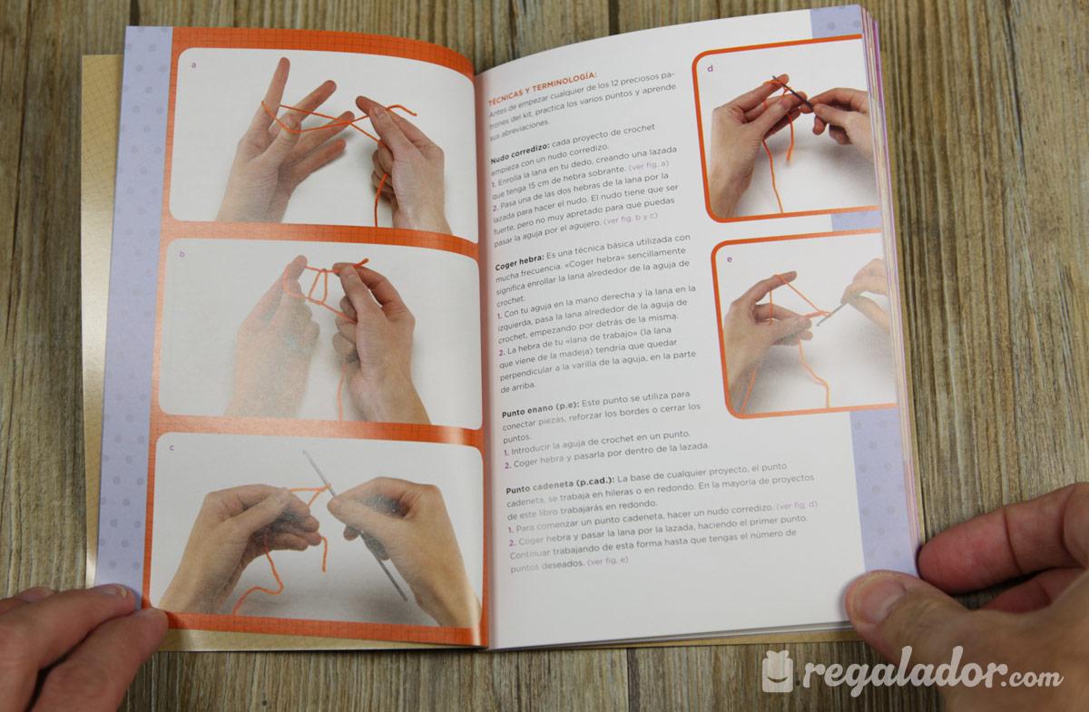 Kit para hacer animalitos de crochet en Regalador.com