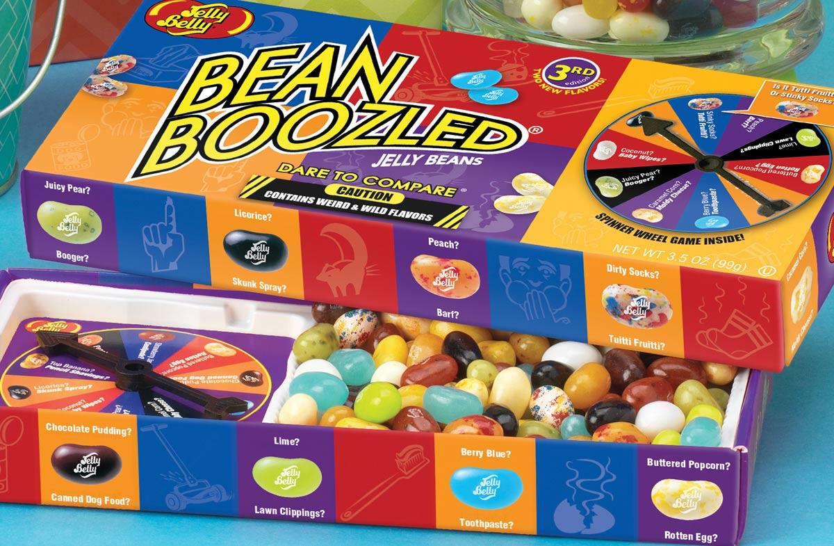 """Jelly Bean Boozled"""": El divertidísimo juego de los sabores"""