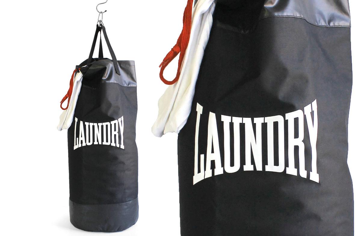 Regalador bolsa para la ropa sucia y saco de boxeo for Bolsas para guardar ropa
