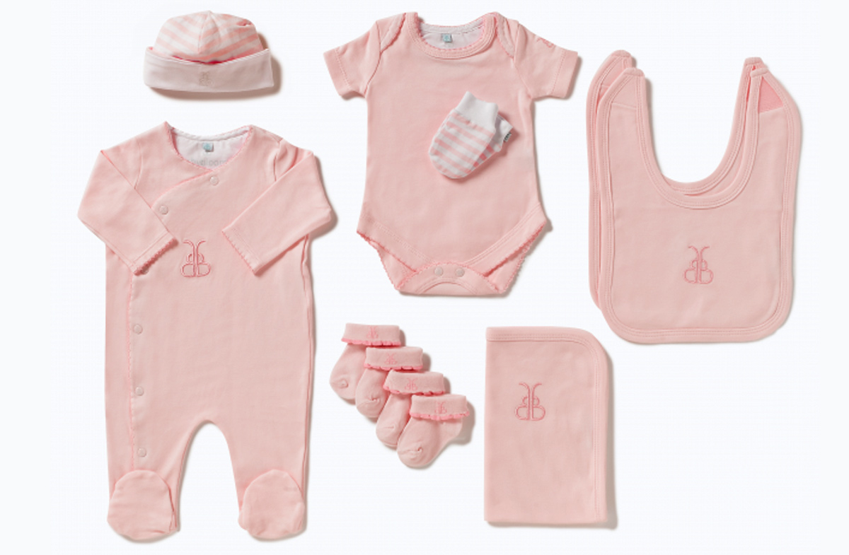 """Bouquet de ropita para bebé: versión """"luxury baby"""" en Regalador.com"""