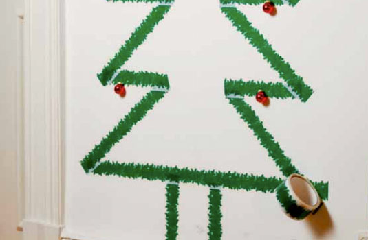 Original Cinta para decorar en Navidad.
