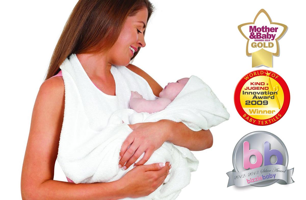la toalla de bao para bebs ms prctica y premiada