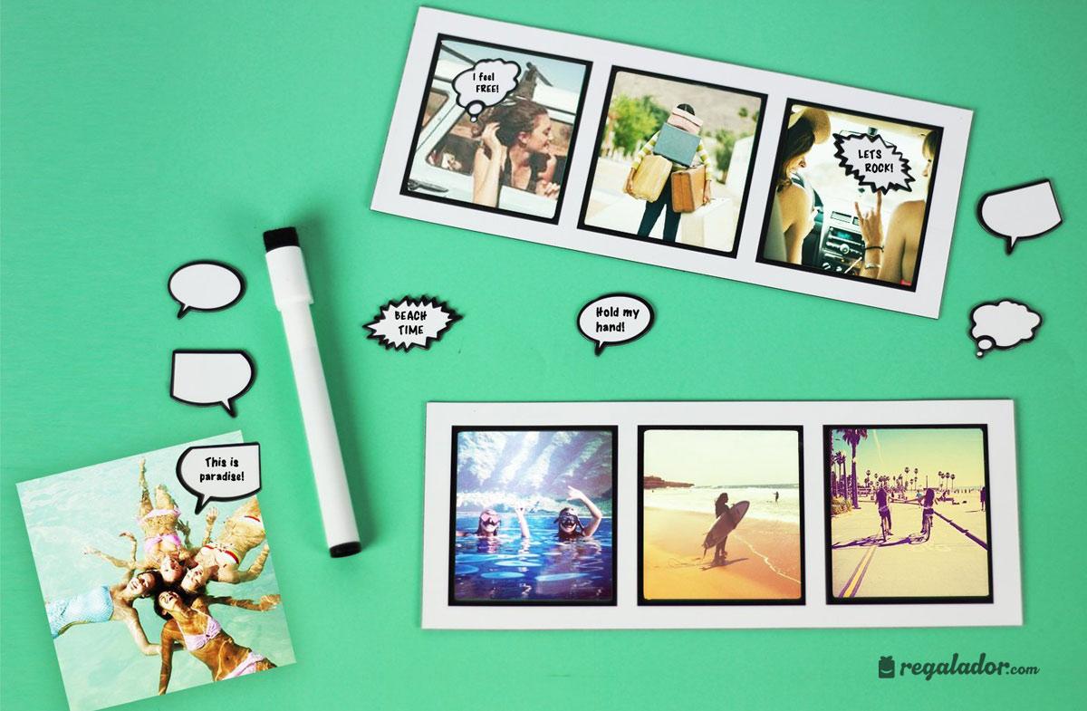 Convierte tus fotos en tiras de cómic en Regalador.com