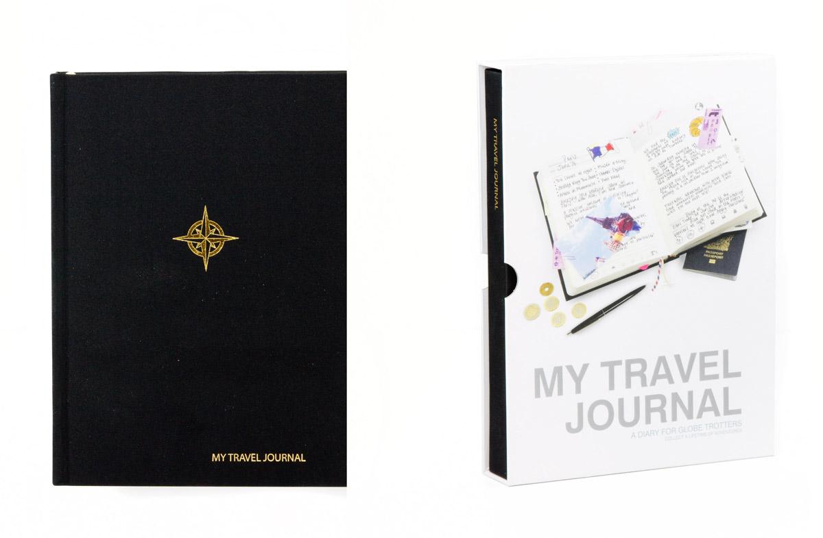 El diario ideal para los más viajeros