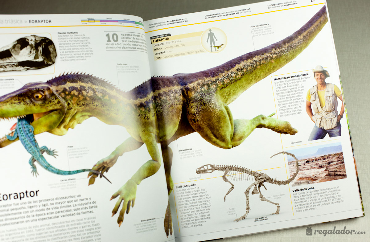 """Dinosaurios"""", la enciclopedia más jurásica en Regalador.com"""