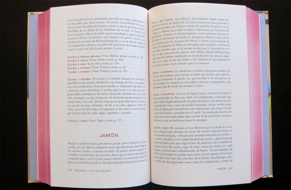 La enciclopedia de los sabores de Niki Segnit