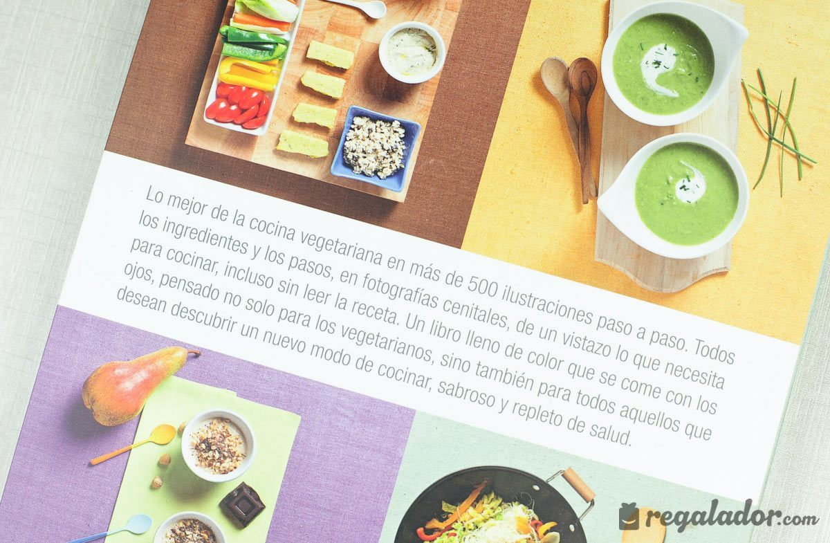 regalador libro escuela de cocina vegetariana