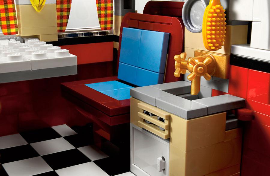 La furgoneta Volkswagen más hippie de los 60's de LEGO