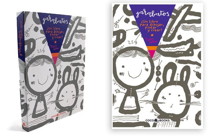 """""""Garabatos"""", maravillosos libros para dibujar"""