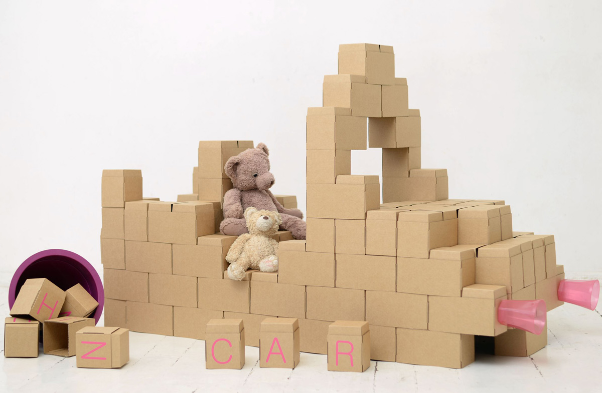 Resultado de imagen de Bloques de construcción de cartón XXL