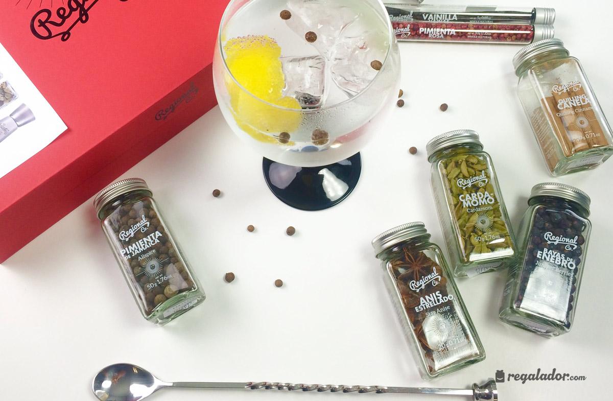 Gin & Tonic box: La caja deluxe para aderezar sus copas