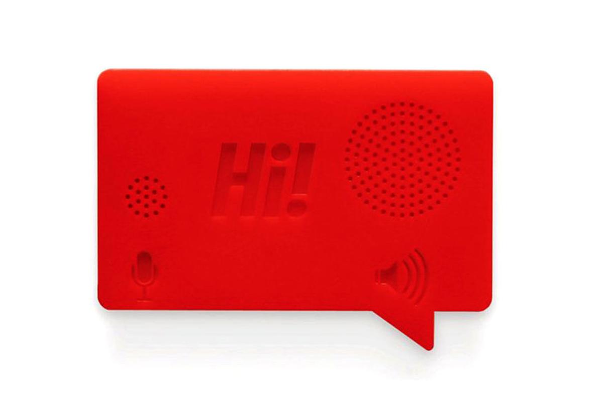 Grabadora de voz para dejar tus mensajes en Regalador.com