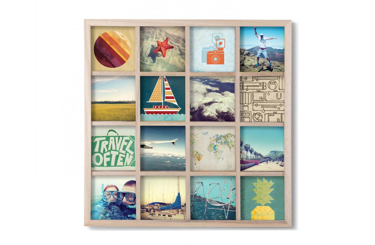 Marco multifoto de pared en Regalador.com