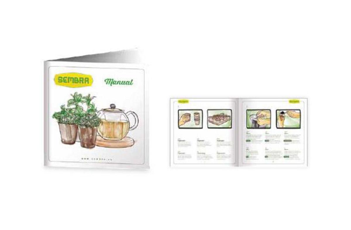 Kit para cultivar tus propias infusiones