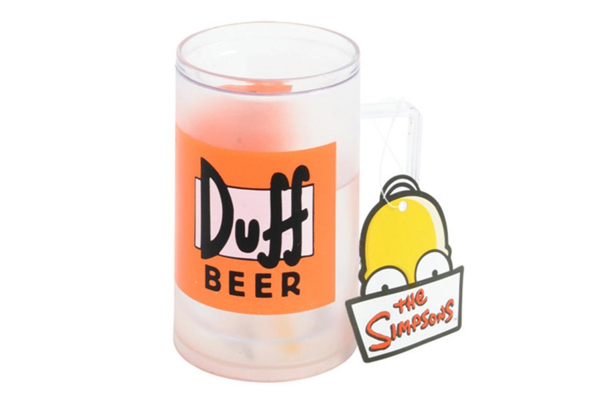 Jarra de cerveza Duff Beer de Los Simpson para congelar en Regalador.com
