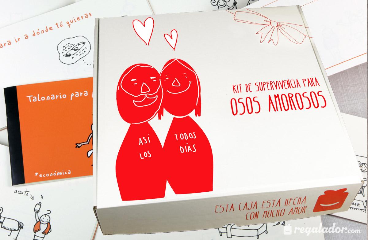 Kits de supervivencia para osos amorosos for Regalos muy romanticos