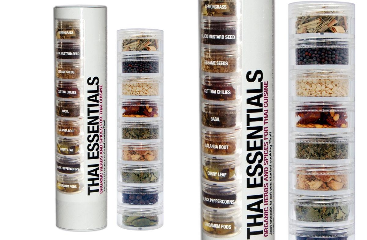 Mini-kits orgánicos de especias del mundo en Regalador.com