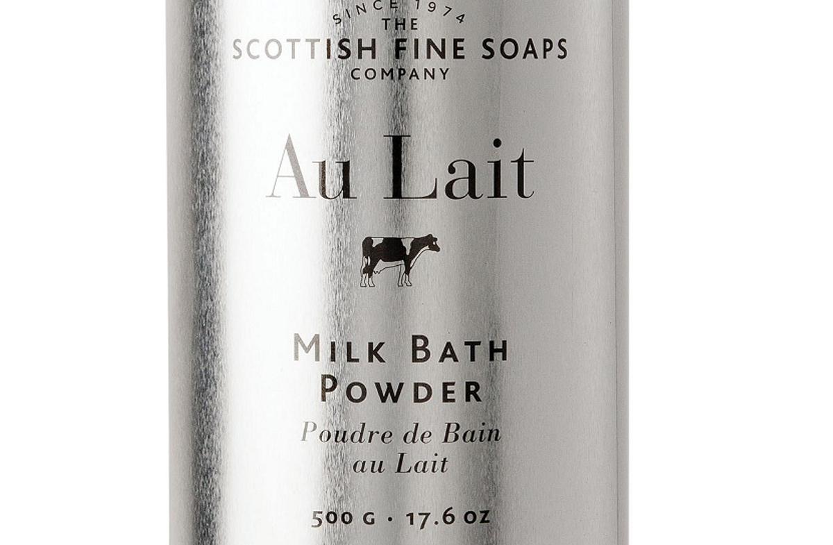 Leche en polvo para el baño más relajante