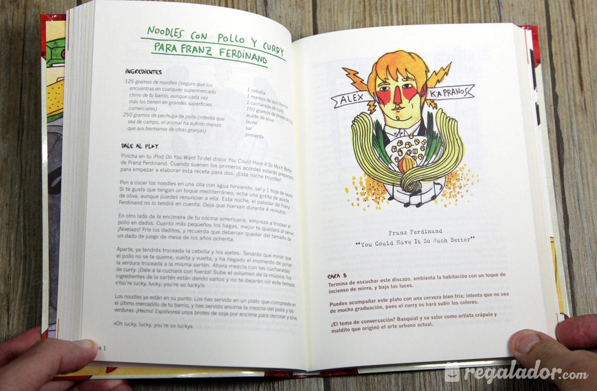 Cocina indie recetas para amantes de la m sica en - Libros de cocina originales ...