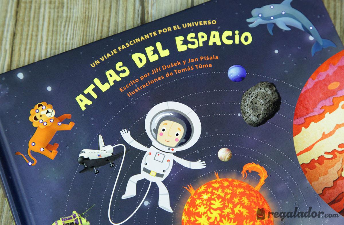 Atlas del espacio desplegable para ni os en - Dibujos infantiles del espacio ...