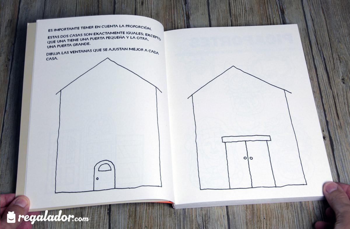 """Libro """"Dibújame una casa"""" para pequeños arquitectos"""