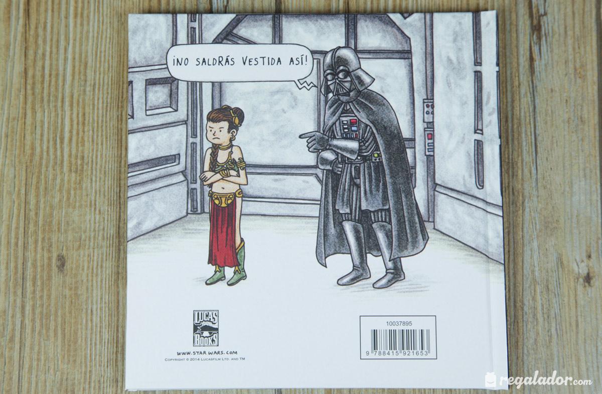 Cómic de Star Wars: Vader y su princesita