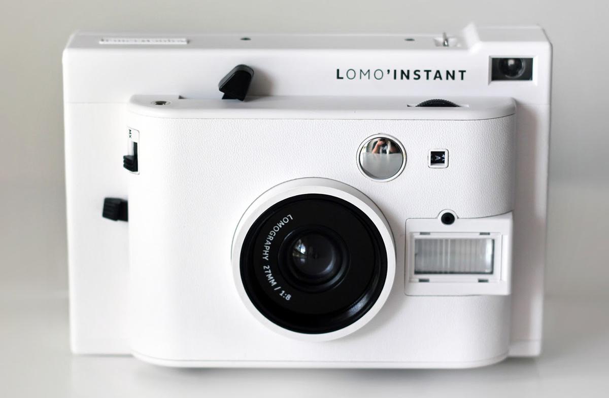 Cámara de fotos instantánea de Lomography