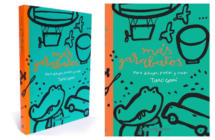 """""""Más Garabatos"""", maravilloso libro para dibujar"""