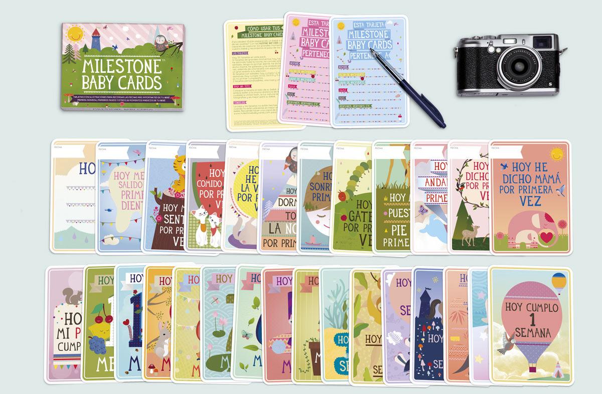 Milestones: las tarjetas más divertidas para fotografiar en ...