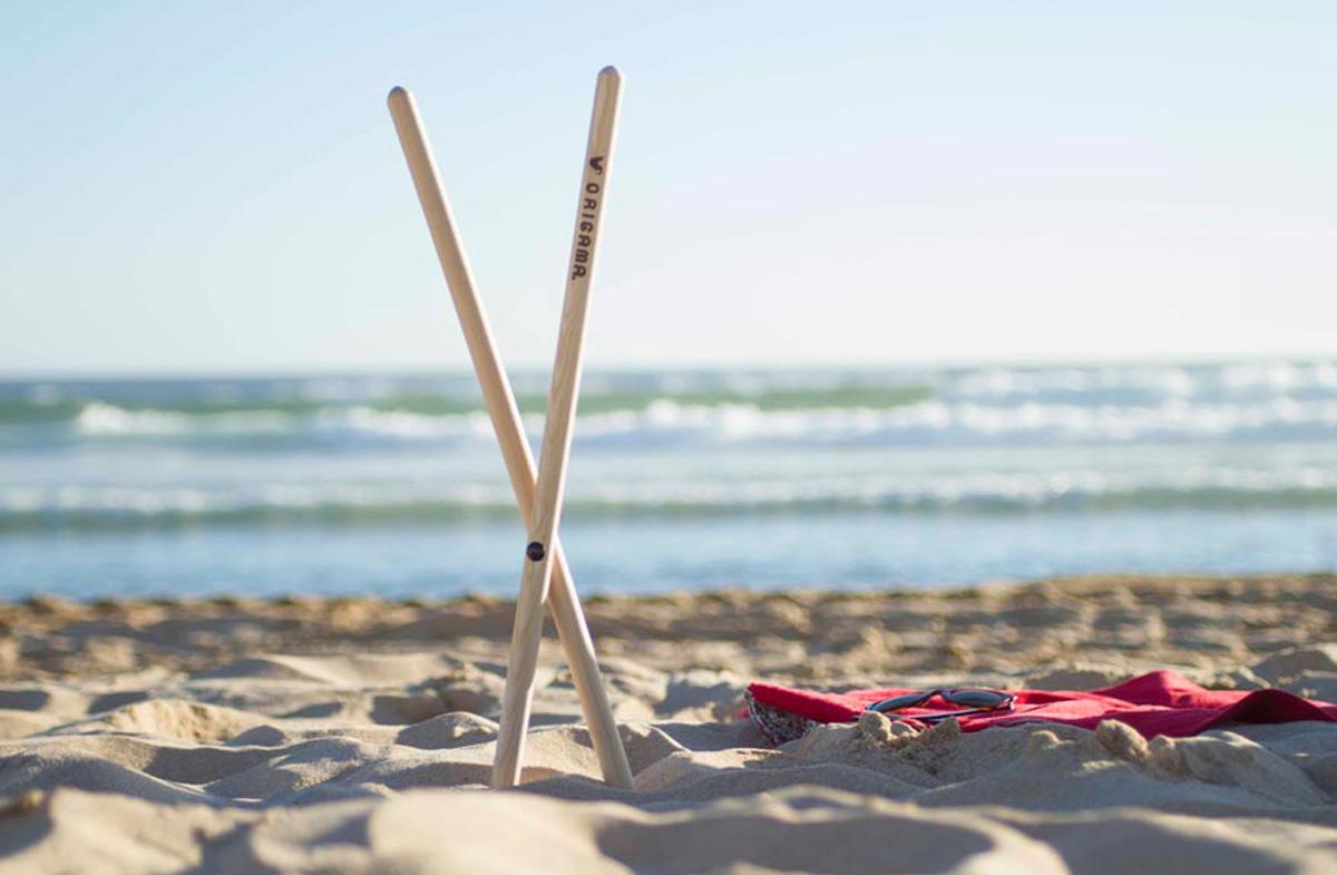 """Origama """"Sun Seat"""": la toalla-tumbona más original y práctica"""