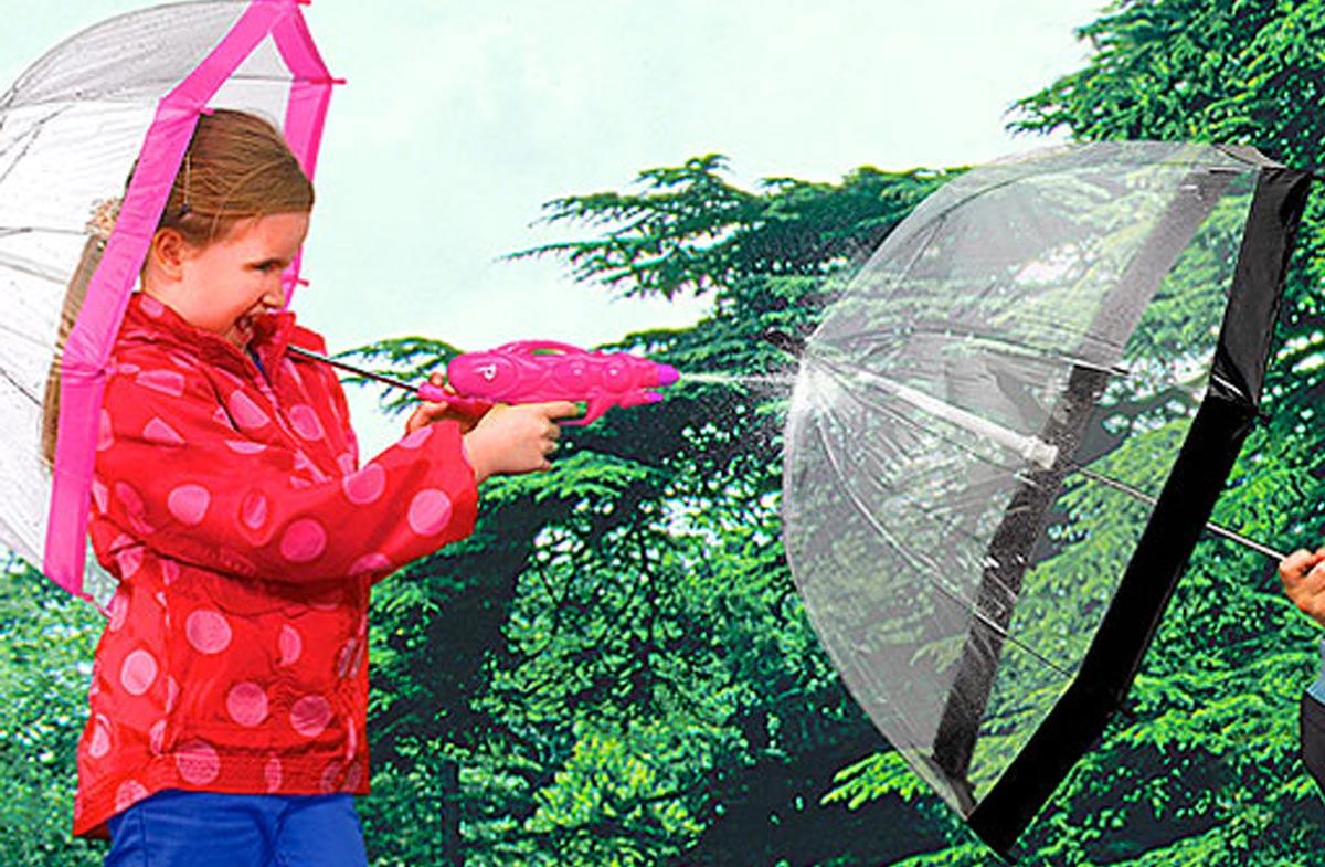 Fulton: Los paraguas transparentes para niños