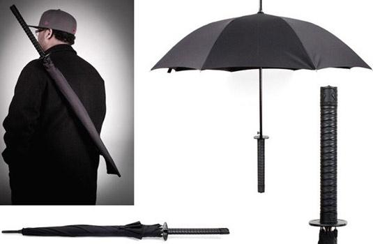 El paraguas que todo samurái necesita