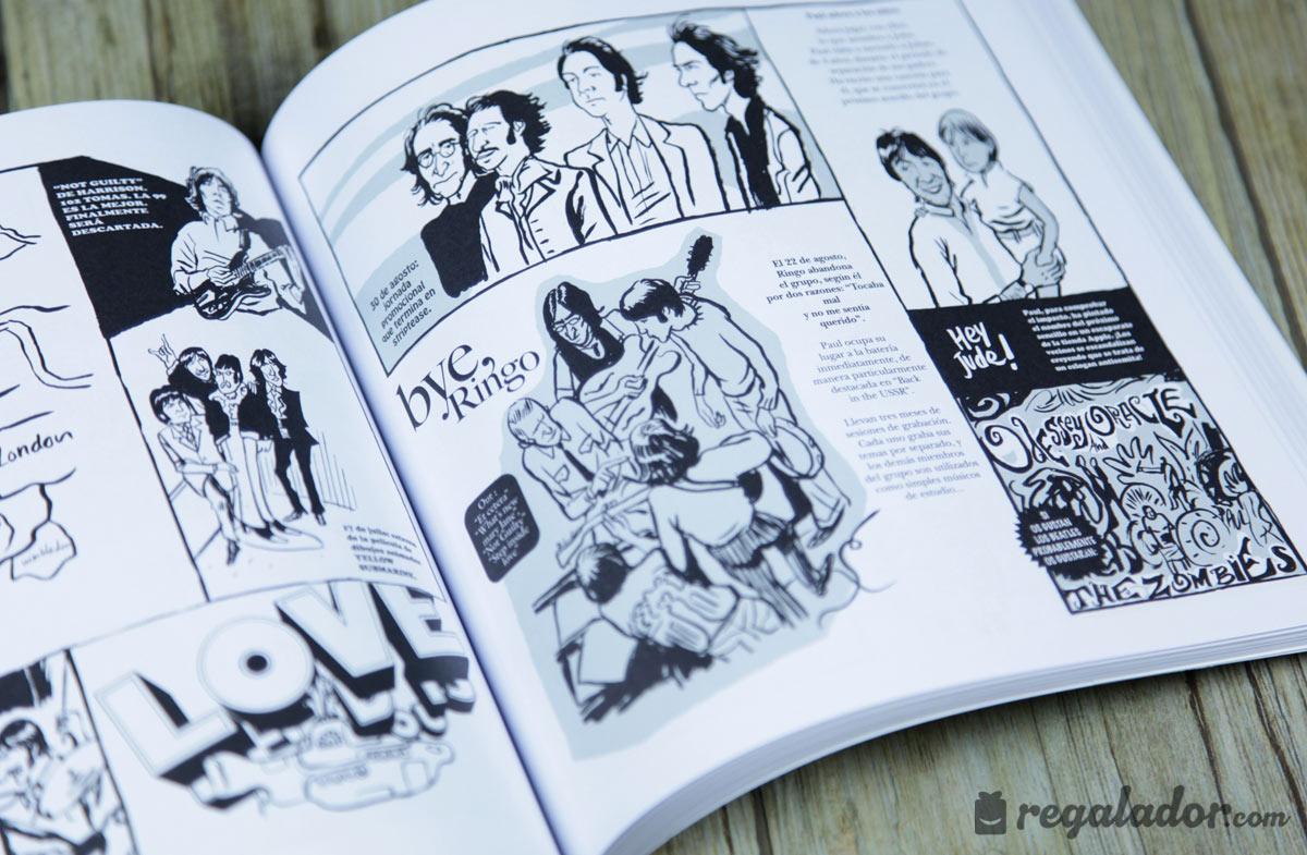 """El pequeño libro de los Beatles"""" en Regalador.com"""