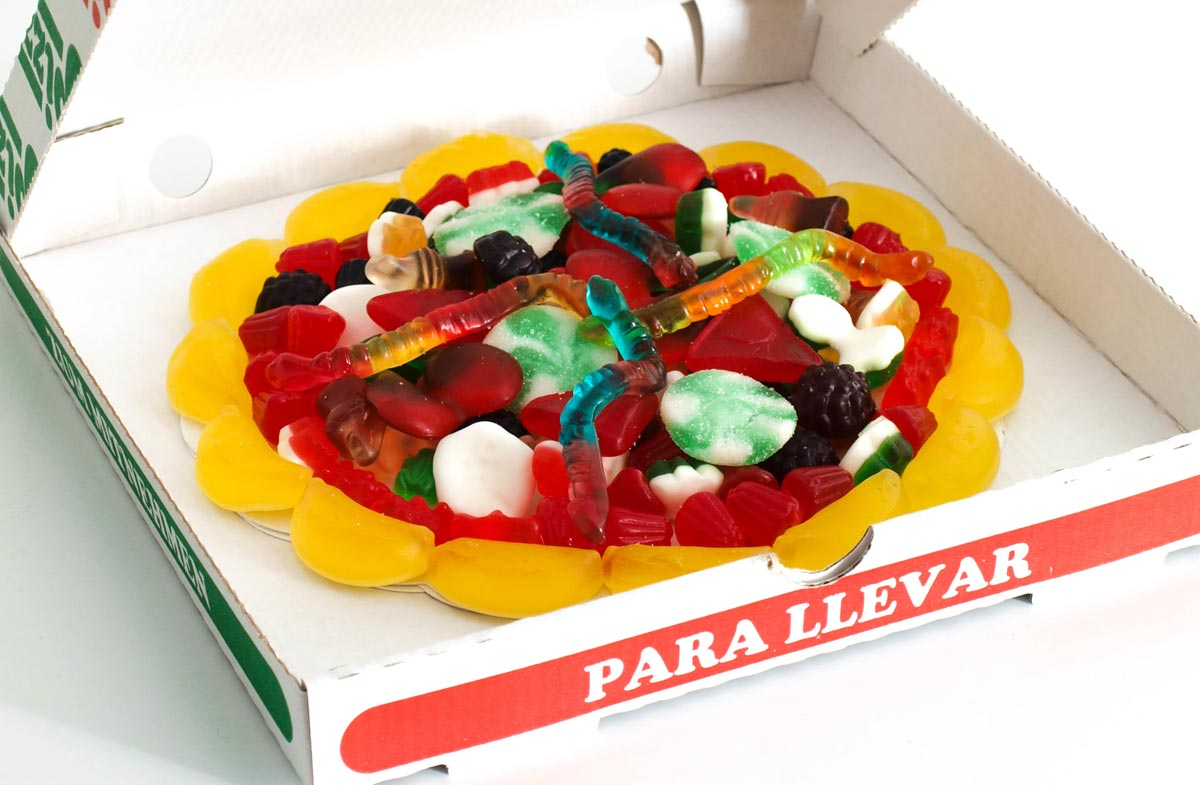 Pizza de gominolas para los m s golosos en - Regalos originales para la casa ...