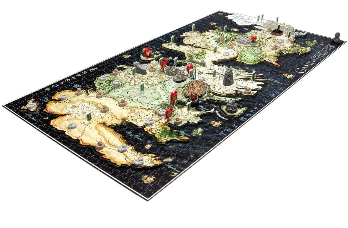 Puzzles 4D para fans de Juego de Tronos