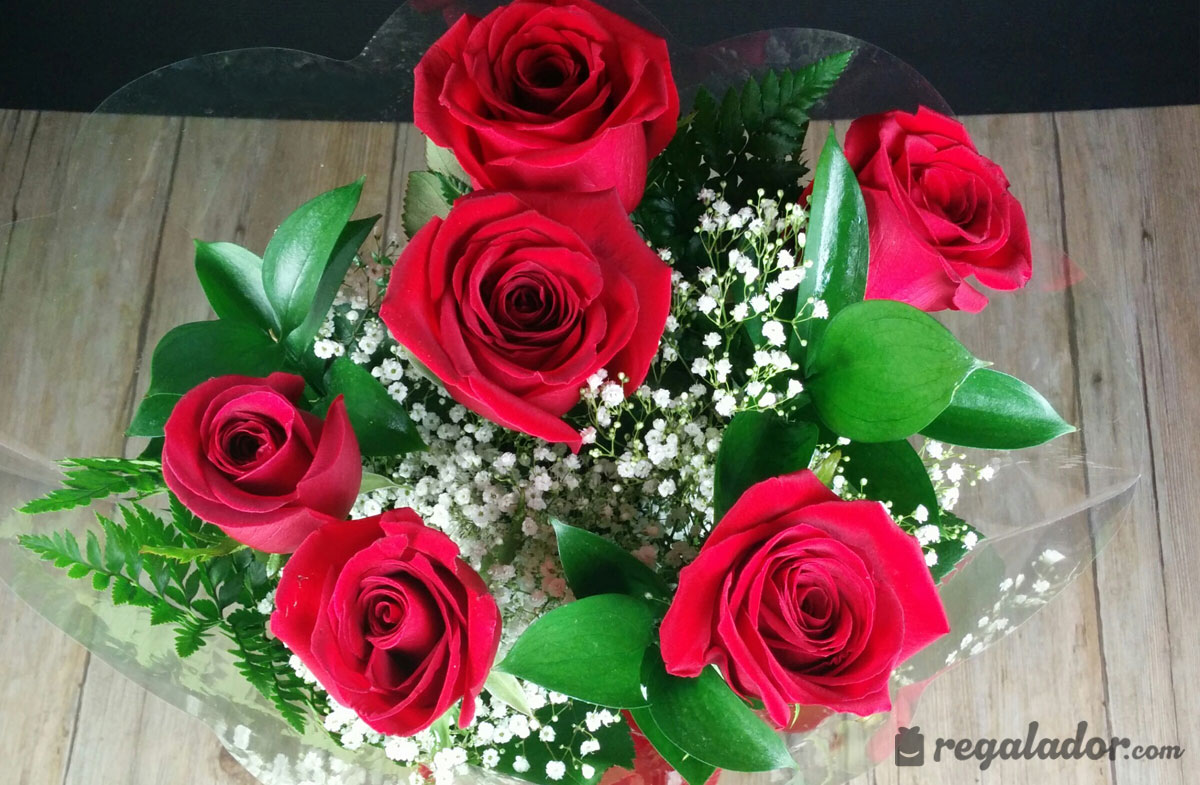 ramo de rosas rojas para enamorar - Imagenes De Ramos De Flores