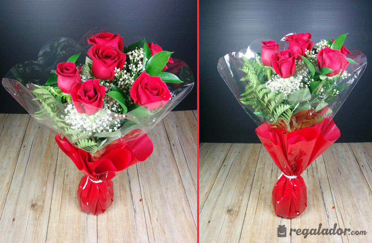 Ramo De Rosas Rojas Para Enamorar En Regaladorcom