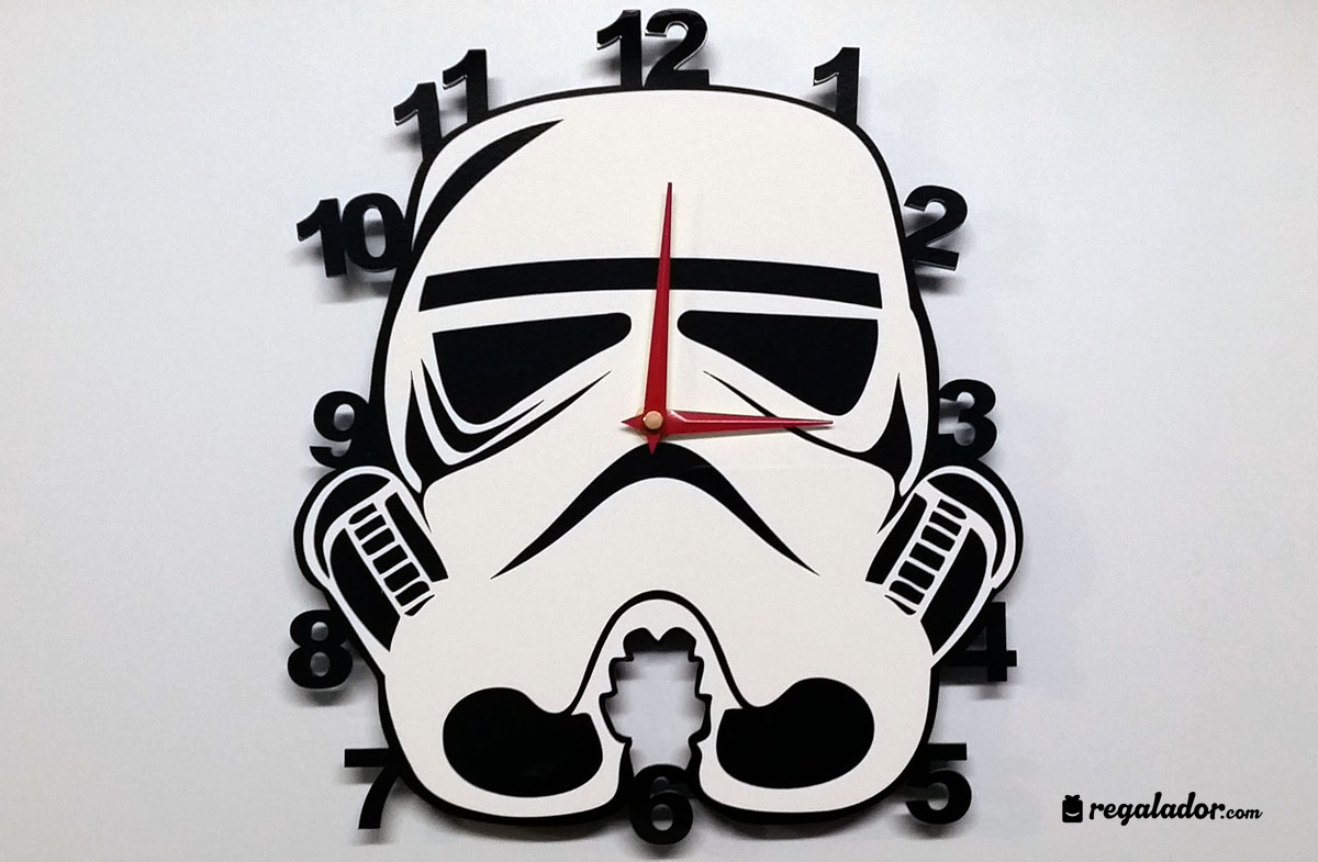 Relojes de pared para fans de star wars en - Fotos de relojes de pared ...