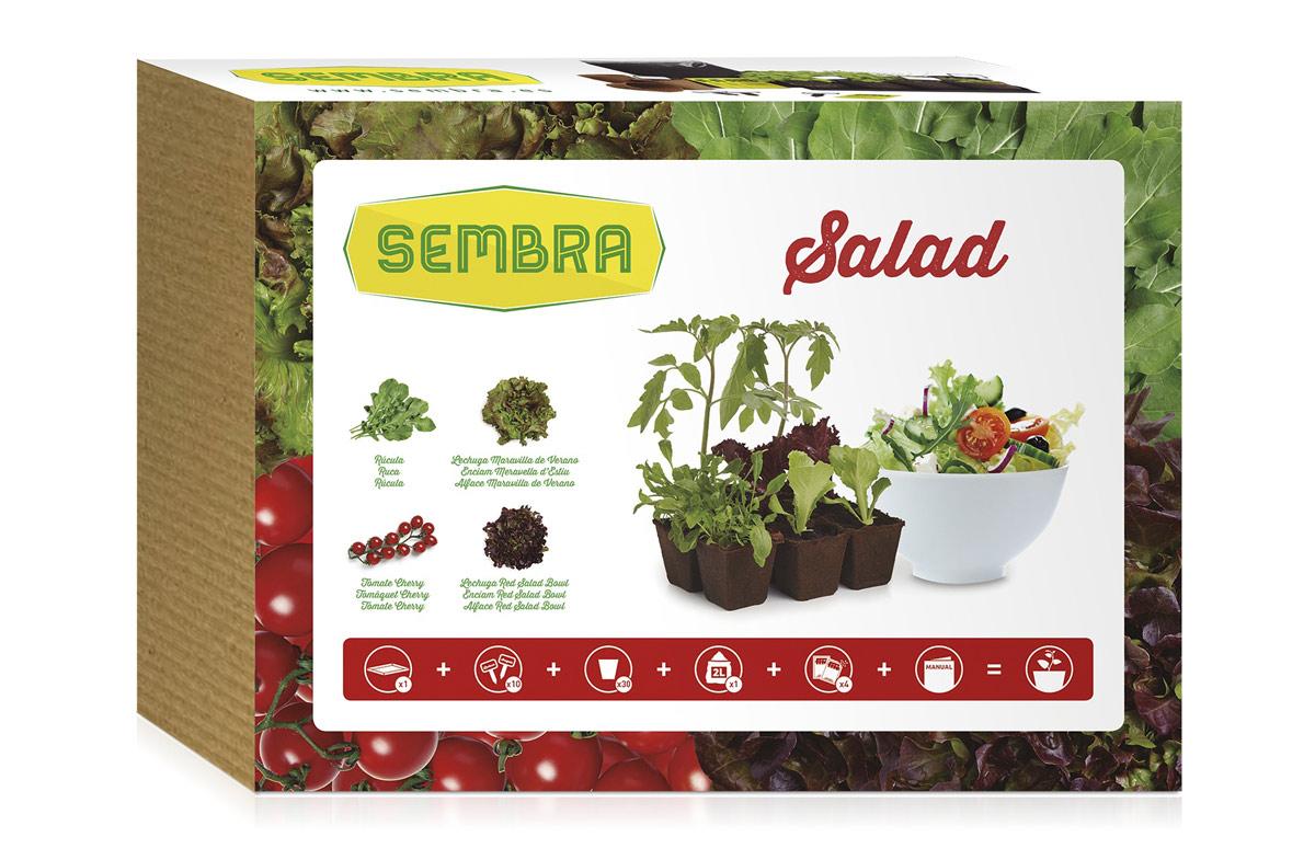 Kit para cultivar tu propia ensalada