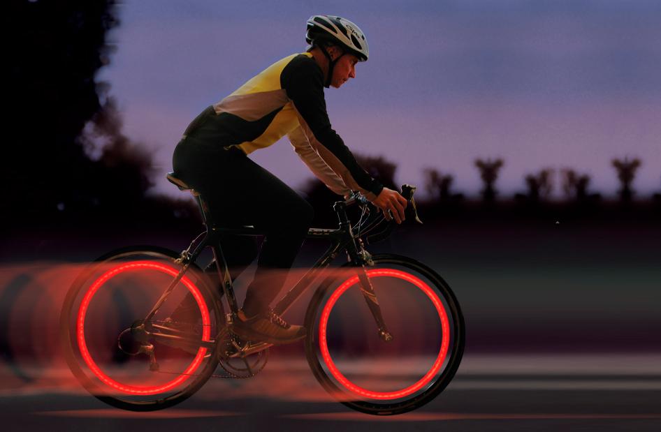 Spokelit: luces para ruedas de bicicleta