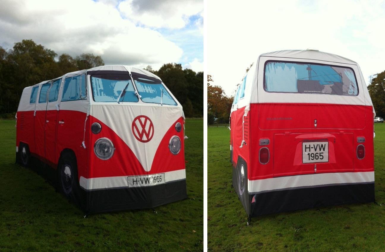 La tienda de campaña furgoneta hippy en Regalador.com
