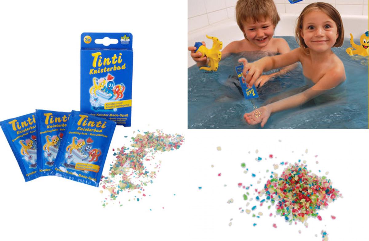 Tinti: diversión multicolor para el baño